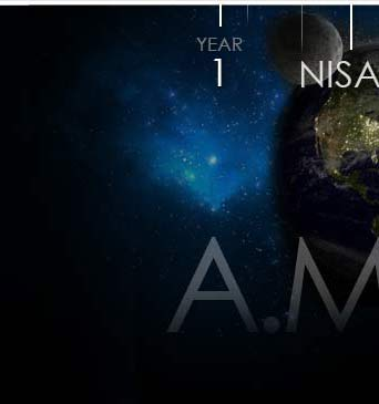 Year 1 of Biblical Calendar on Earth with Nisan and After Man in Timeline